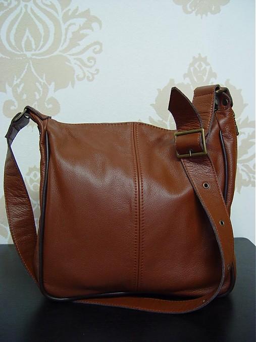 7a931843477e Hnedá kožená kabelka Martina   DajanaRodriguez - SAShE.sk - Handmade ...