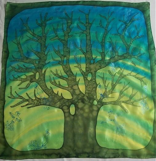 Šály - prvý jarný strom - 1257471