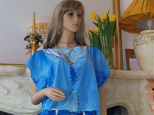 f38983dca6 Hodvabna malovana bluzka   InSeda - SAShE.sk - Handmade Košele