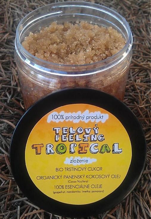 Tropical - telový peeling, 200g