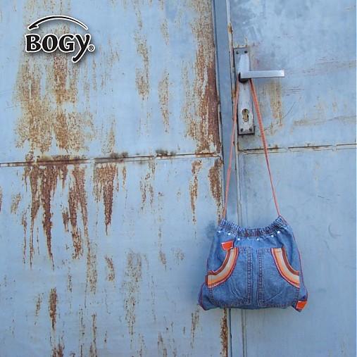 dětská riflová kabelka, džínová taška