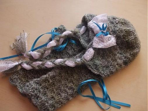 ecbda940b8e6 Vintage súprava   hajnusa - SAShE.sk - Handmade Detské čiapky