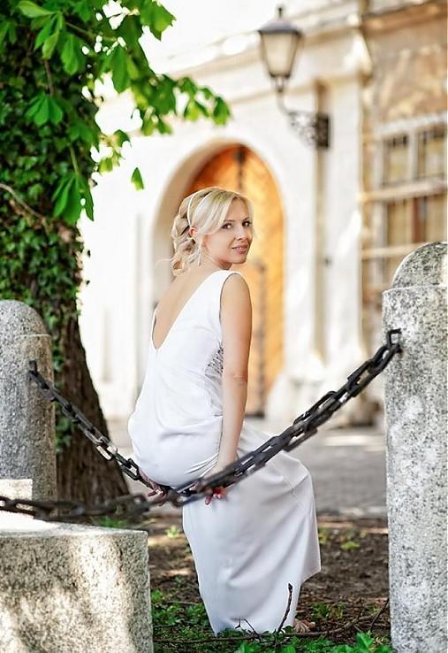 bcee2aea81bd éterické svadobné šaty + bolérko   mara.zb - SAShE.sk - Handmade Šaty