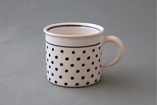 Kafáč puntík 8 bílý cca 0,3 l