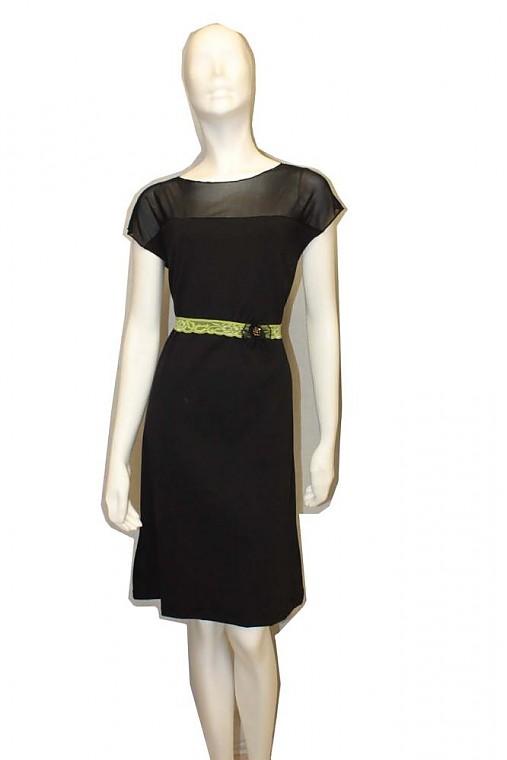 47356068d5d Čierne šaty s tylom...   BusyGirl - SAShE.sk - Handmade Šaty