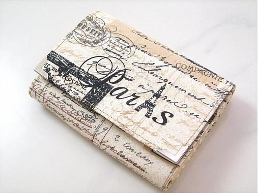 Paříž - elegantní peněženka