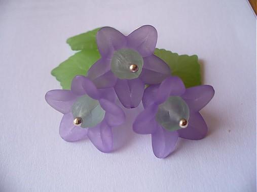 d052ccdf7 Fialové zvončeky / Lu-Lu - SAShE.sk - Handmade Sady šperkov