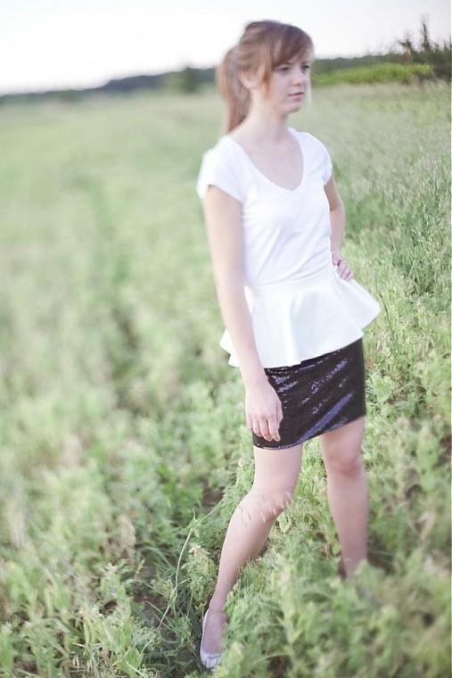 Sukne - Zľava...Čierna a biela... - 1533499