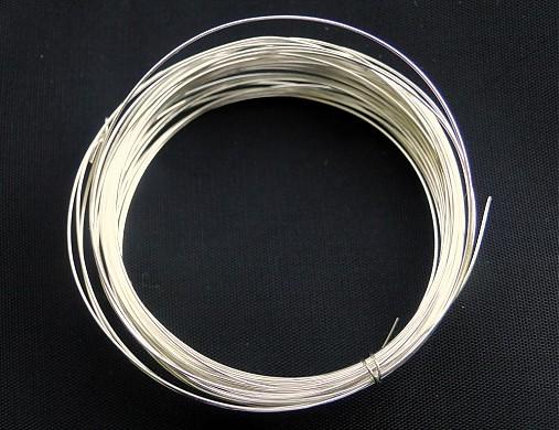 Postriebrený drôt