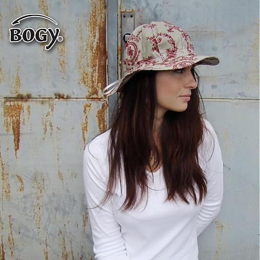 Letní plátěný klobouk Pampalíny s vintage vzorem   BOGY - SAShE.sk ... 2177a14fc7