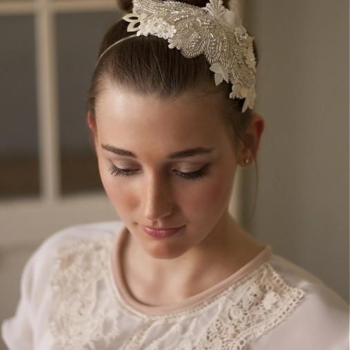 Svatební štrasová čelenka   Samodiva - SAShE.sk - Handmade be5c4779ff