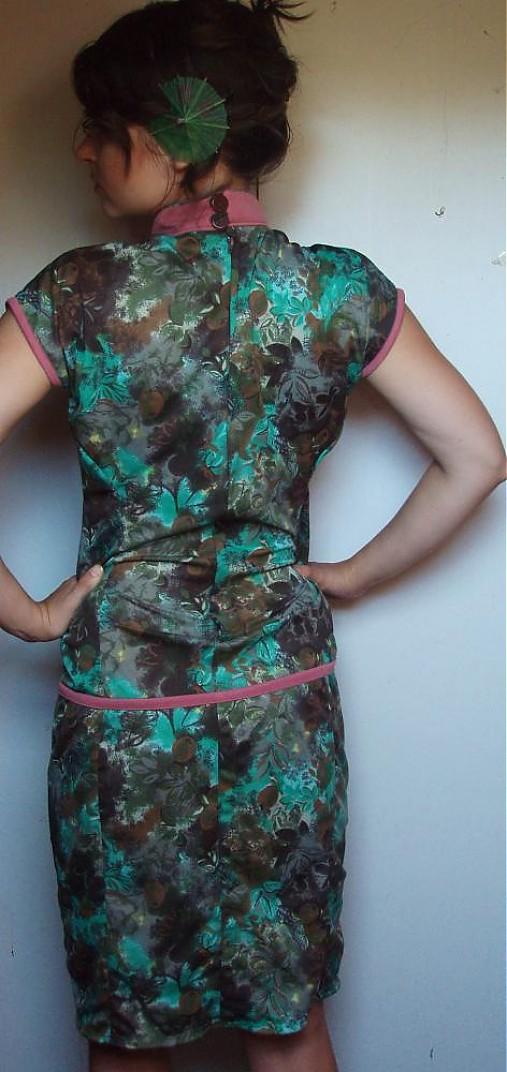 Čínske šaty   majoranka - SAShE.sk - Handmade Šaty a6d39541db0