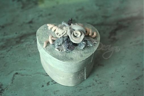 krabička srdce ružičky 6 - skladom