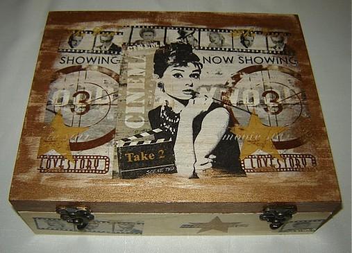 45697db273 Hviezdy filmového plátna   Slashina - SAShE.sk - Handmade Krabičky