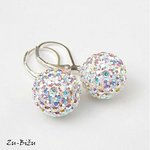 Crystal AB guličky   zu - SAShE.sk - Handmade Náušnice ff3fd1cab1d