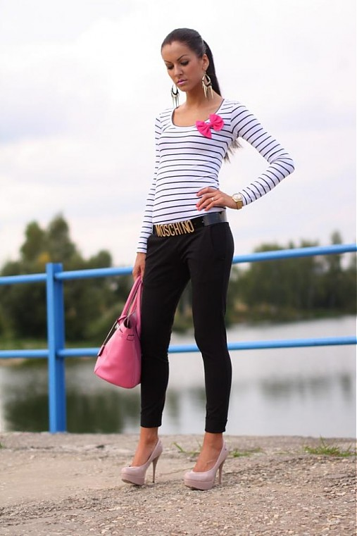 Ležérne nohavice    BLACK  !!   veronikaIN FASHION - SAShE.sk ... 22b8ca1106a