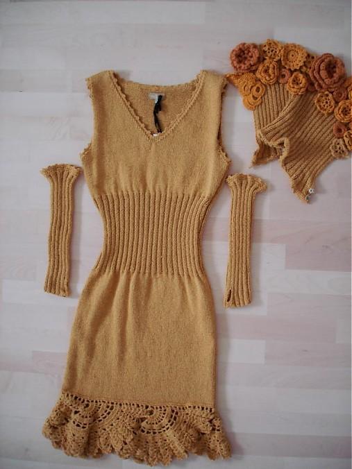 d504c0dba49e Ručne pletené hačkované šaty   SL - SAShE.sk - Handmade Šaty
