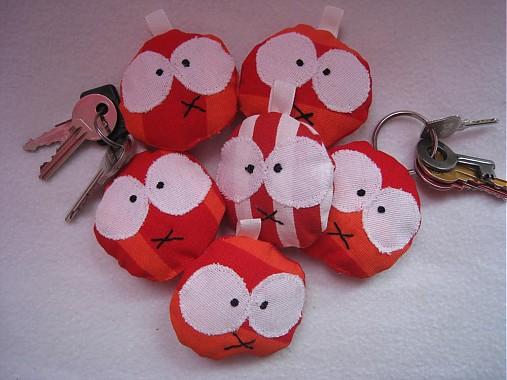 Pampúšiky na kľúčiky
