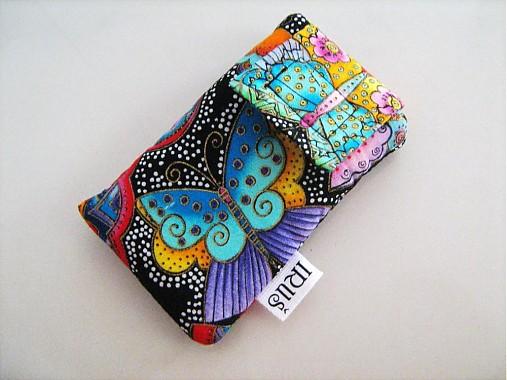 Motýlí třepotání - obal na mobil