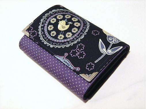 Happy Birds - milá peněženka i na karty