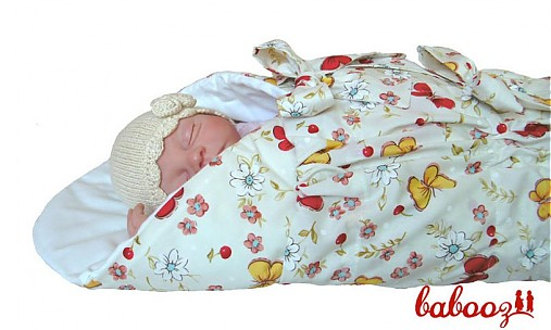 be75639a393b Perinka s motýlikmi červeno žltá UNI   babooz - SAShE.sk - Handmade ...