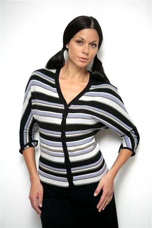 Pruhovaný pulover LERY