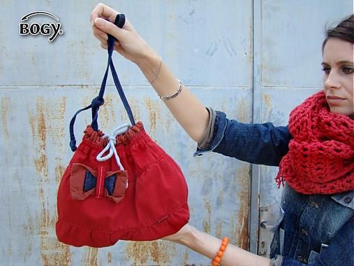 RED mini kabelka na rameno nebo kolem pasu