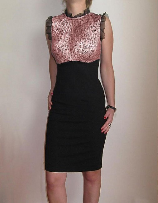 Šaty black gepard bordové   Dyona - SAShE.sk - Handmade Šaty 4c4093ac063