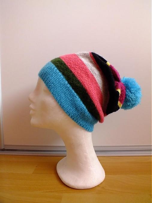 ab25e0a8f Vlnená čiapka s brmbolcom / m29m - SAShE.sk - Handmade Čiapky