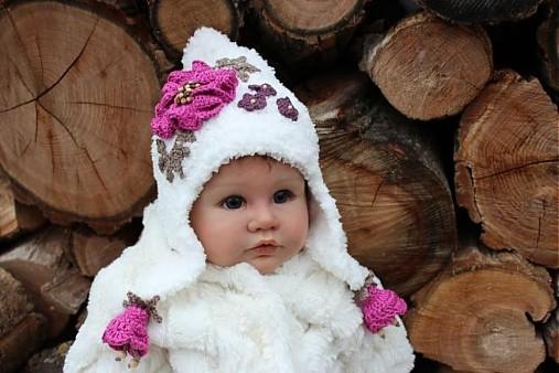 ef0271f95 Zimná ušianka kožušteková / FORSARAH - SAShE.sk - Handmade Detské čiapky