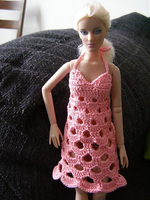 0bc59c7a2366 Háčkované šaty pre tonnerku č.2   natanelly - SAShE.sk - Handmade Hračky