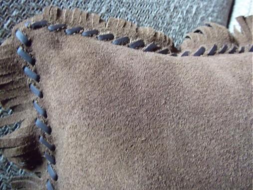 fc9120850 Kožený dekoračný vankúš - kovboj / DuPa - SAShE.sk - Handmade ...