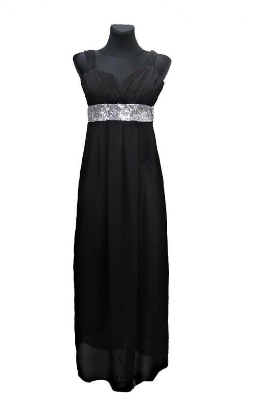 Šifónové spoločenské šaty s flitrami   Dyona - SAShE.sk - Handmade Šaty 4d7ac1c071e