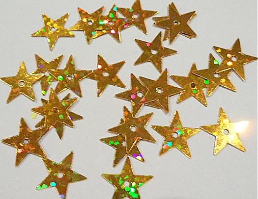 Flitre 13mm STAR (hol.zlatá-5g)