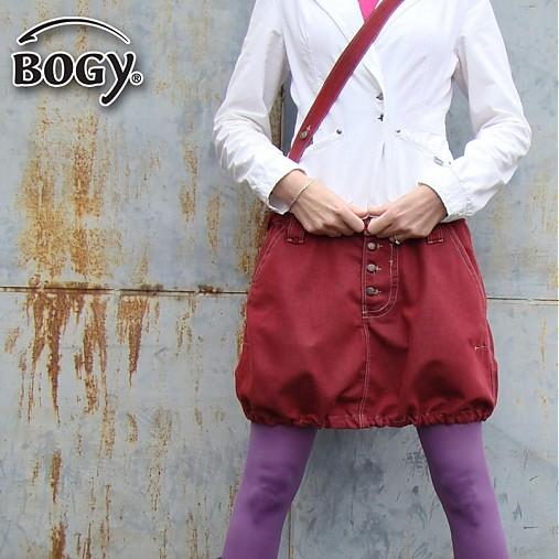 e9f35e0c9d16 Riflová sada sukně balónová na knoflíky + kabelka   BOGY - SAShE.sk ...