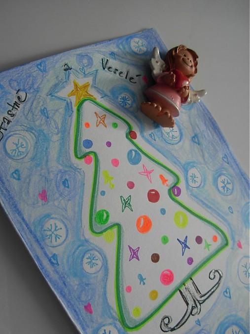 Veselá pohľadnica k Vianociam