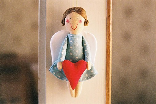 Anjelik so srdiečkom