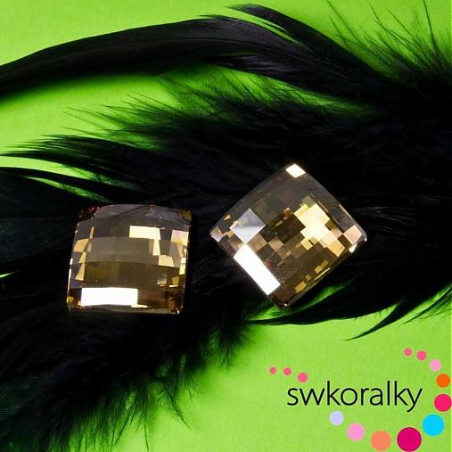 CHESSBOARD 20 SWAROVSKI ® ELEMENTS Crystal GSHA F