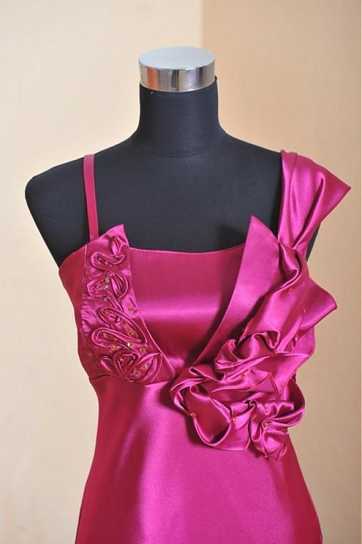 cafb94d55bee Cyklamenový kvet   alija - SAShE.sk - Handmade Šaty