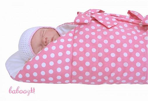 882a5b82a599 Perinka POLKA ružová   babooz - SAShE.sk - Handmade Textil
