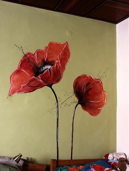 Maľovanie Na Stenu Pucik Sashe Sk Handmade Kresby