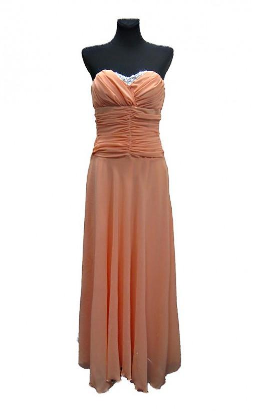 Šifónové korzetové šaty so strieborným dekoltom   Dyona - SAShE.sk ... 6f3384a8a8e