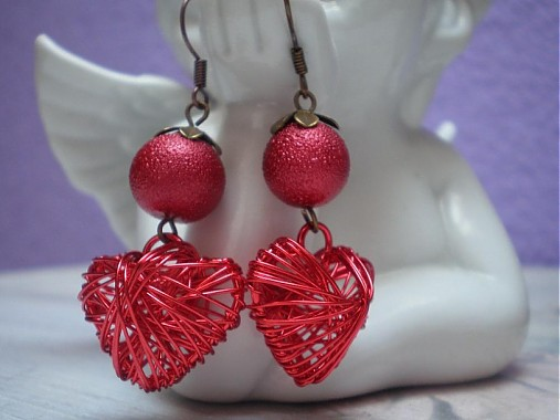 Srdiečkové červené