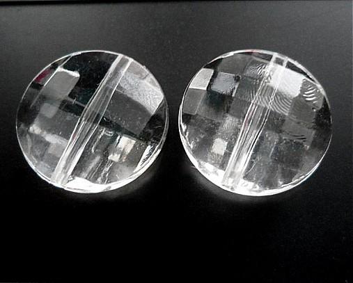 Plast fazet 20mm transp-1ks