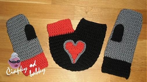 Rukavice pre zamilovaných   ciapkyodbabky - SAShE.sk - Handmade Rukavice 87cef23dbb6