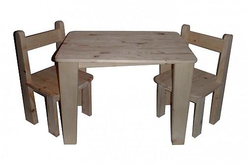 9b0860814973b Detský set - 1 stolík a 2 stoličky / Janulik123 - SAShE.sk ...