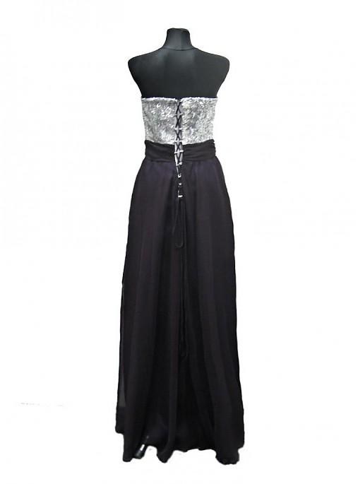 ... Šaty - Korzetové flitrové spoločenské šaty - 2207304 ... 3de7197e838