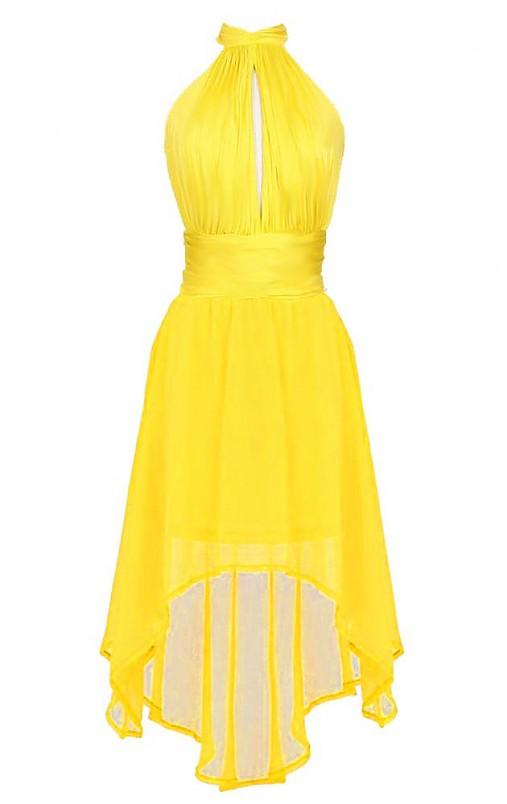 Rafinované šifónové šaty - holý chrbát   Dyona - SAShE.sk - Handmade ... d706b3b13cb