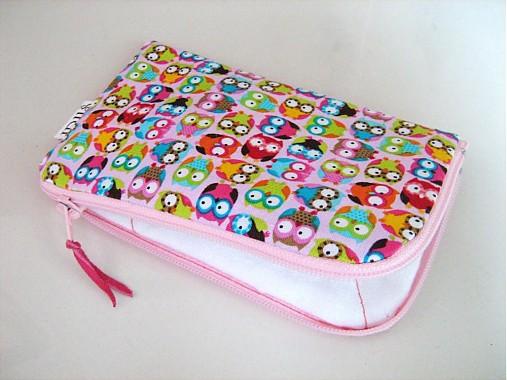Veselé sovičky - pouzdro na mobil