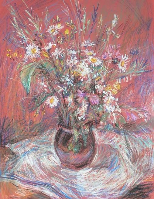 Reprodukcia - Poľné kvety